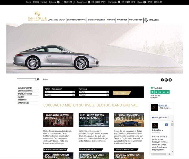 Website Edel & Stark